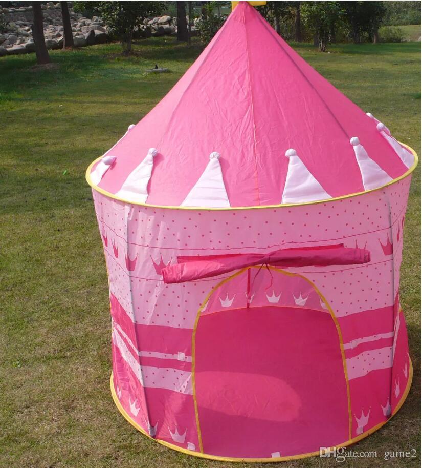 Tenda da spiaggia bambini Ultralarge, giochi bambini Giochi giochi bambini, Principessa bambini Prince Castle Indoor Outdoor Toys Tende bambini Regali di Natale ou