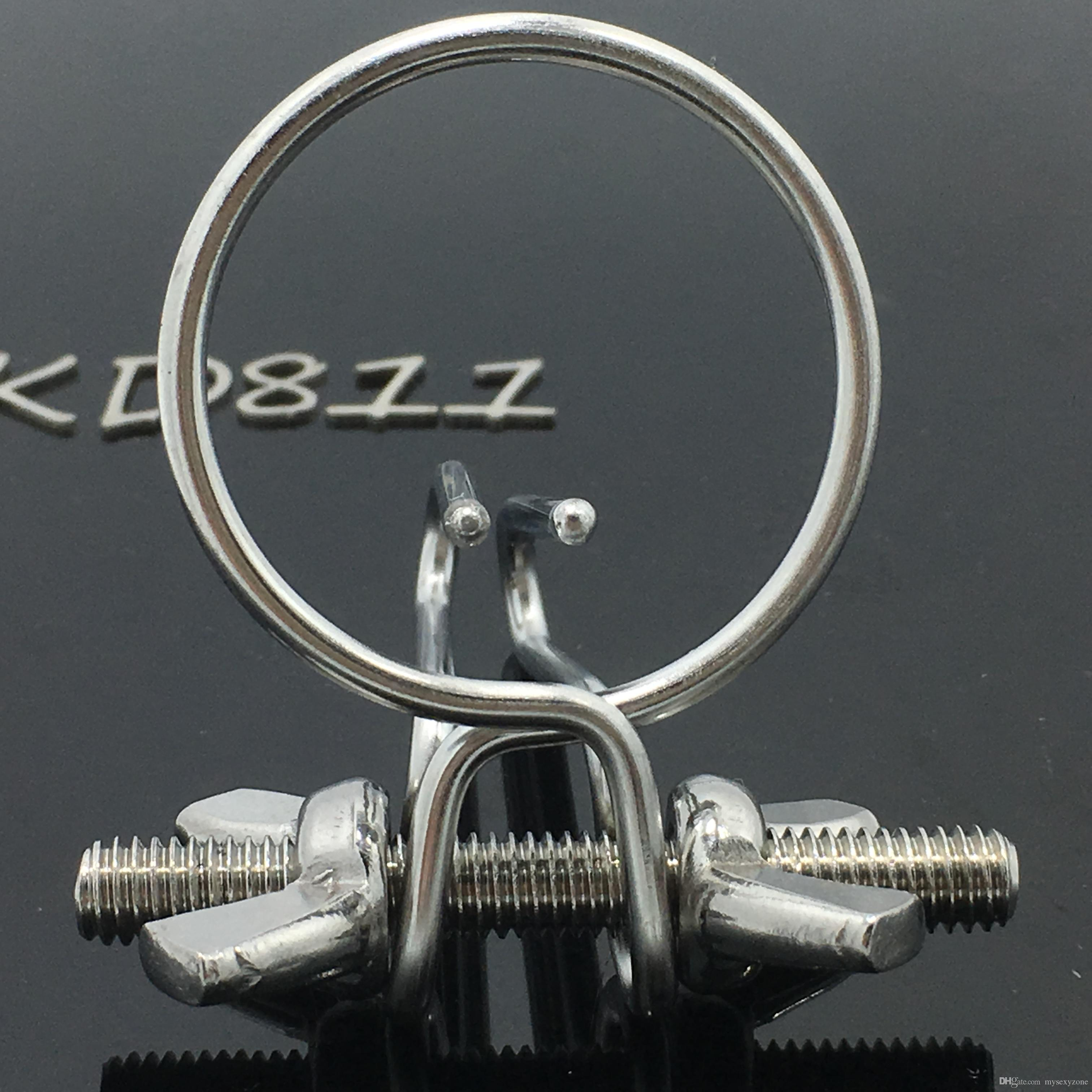 Hot selling stainless steel Stainless steel metal Male masturbation urethral dilator penis stimulating sex toys sex toy MKD811