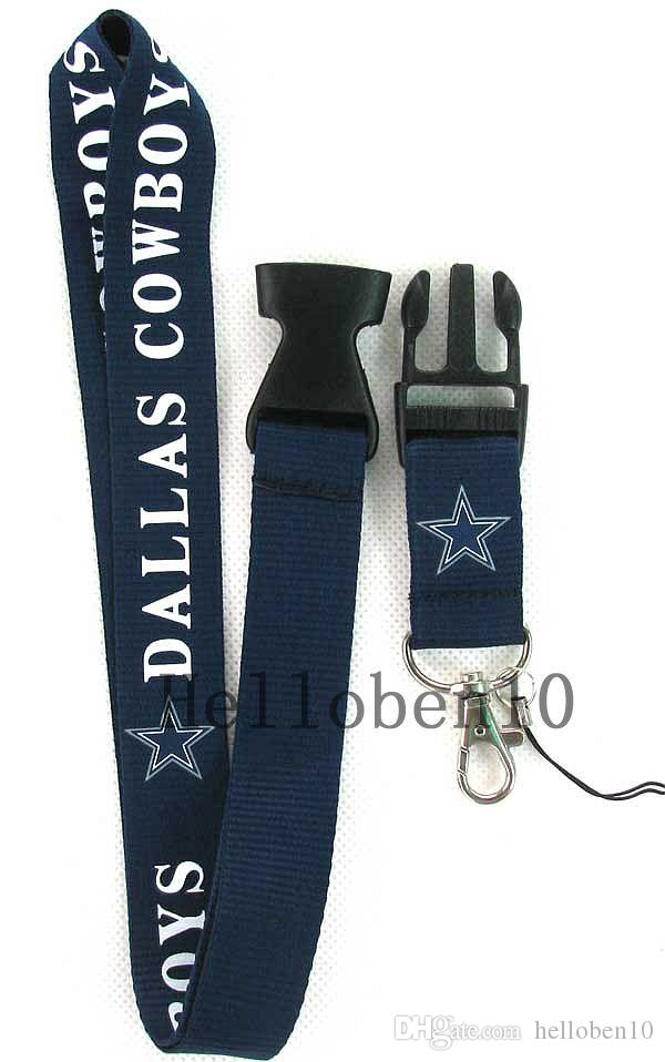 Heat! Deep blue/white removable buckle mobile phone rope lanyard Strap Badge ID Running Cell Holder charm JK2