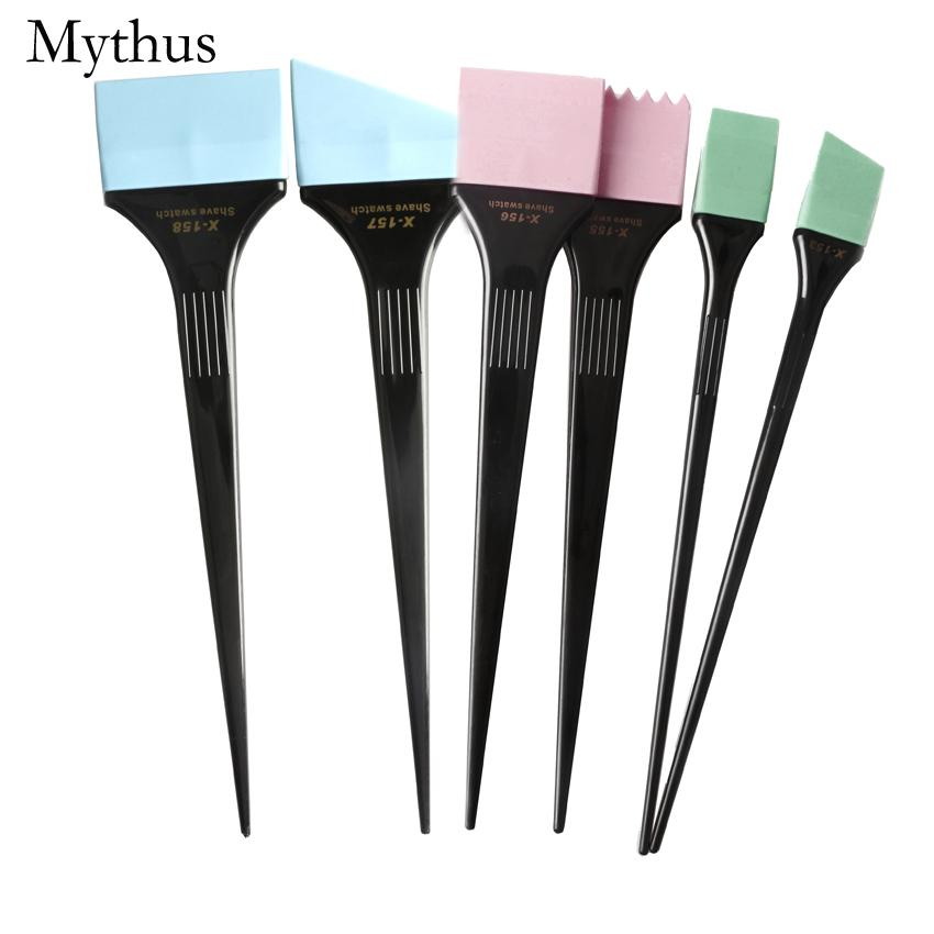 Professional Hair Dyeing Brush Set For Salon 6 Size/ Pack Hair ...
