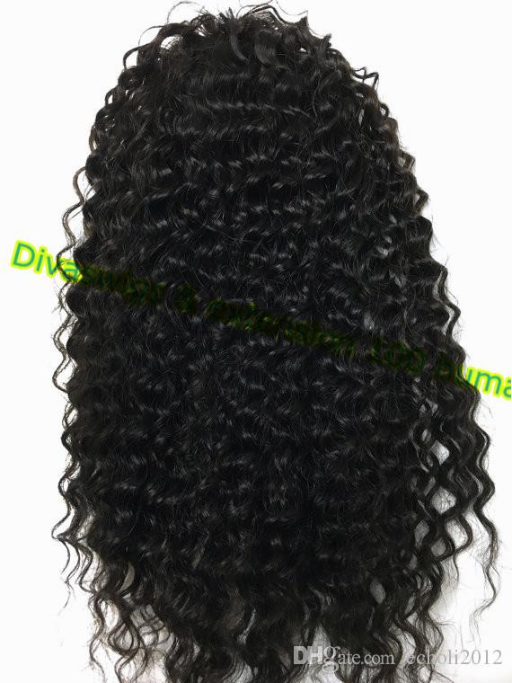 dora remy virgin Peruvian Human hair Natural Color Afro Puff Curly Clip-in hair extension Ponytail drawstring for black women