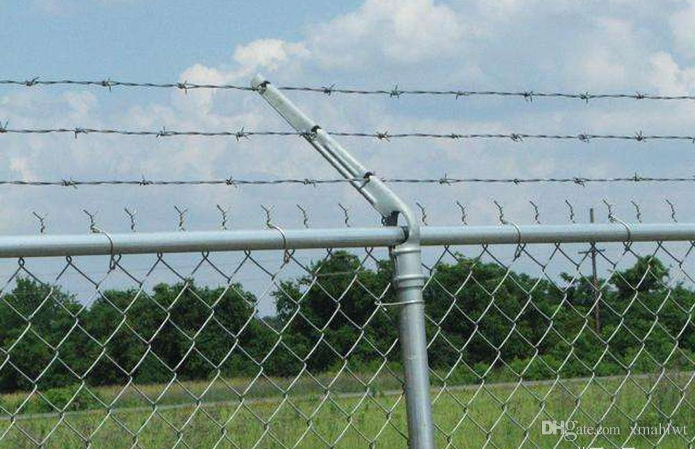 2018 2 X 2 10g 4ft X 25m Galvanized Chain Link Fence In Roll High ...