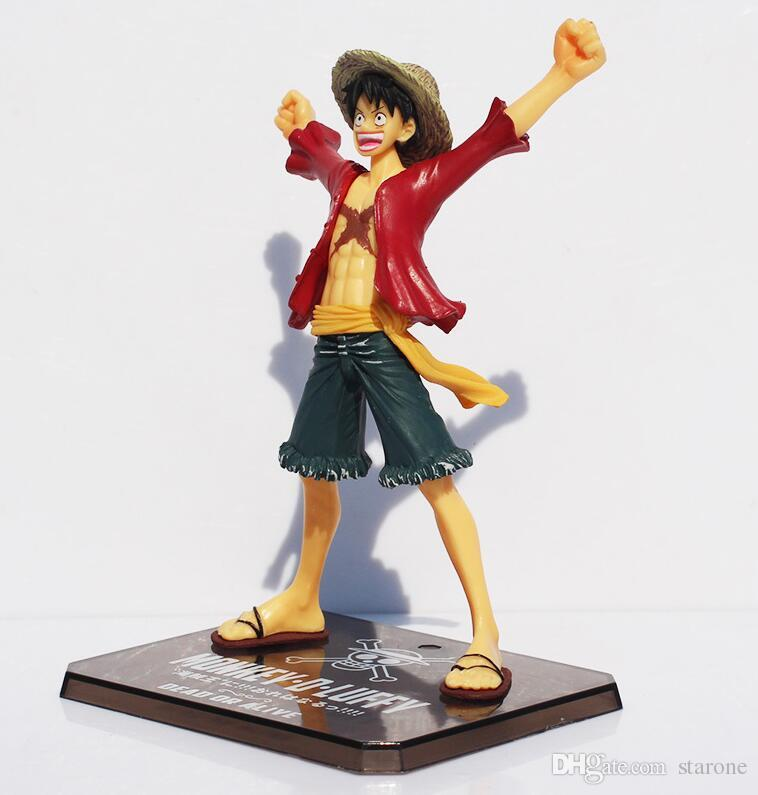 Japaness Anime Cosplay One Piece Monkey Luffy Action Figures Model Collection 15cm Two Years Later Kids With Box