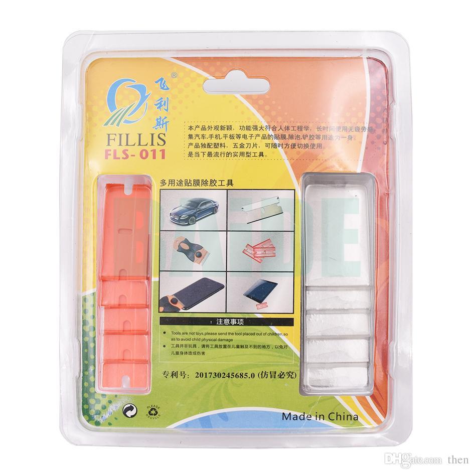 Verre Retirer le couteau à colle Lame en plastique Démonter Nettoyer le grattoir Pelle à polir OCA Adhésif Colle UV racler le cutter /
