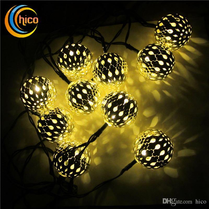 Garden String Lights Cool Solar String Lights Ball Light String Led Christmas Lights Led Solar