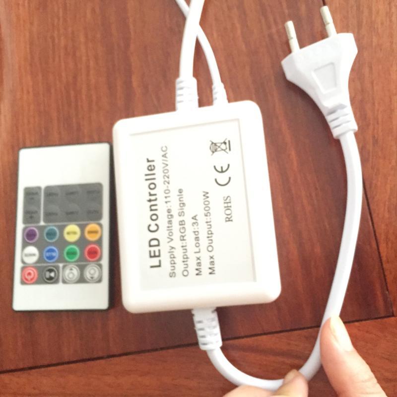 Аксессуары для 110 В 220 В 2835SMD 120LEDS 6 Вт светодиодные неоновые веревки светодиодные пиво неоновая вывеска свет гибкие водонепроницаемые полосы света