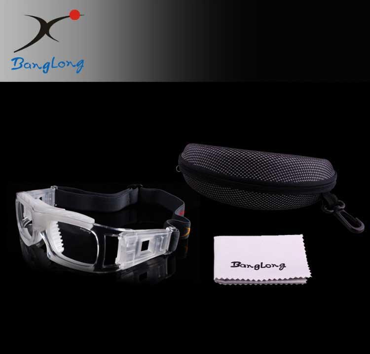 28cbcdc2bf0 Basketball Glasses Sports Goggles Anti-fog Explosion-proof Eyeglass ...