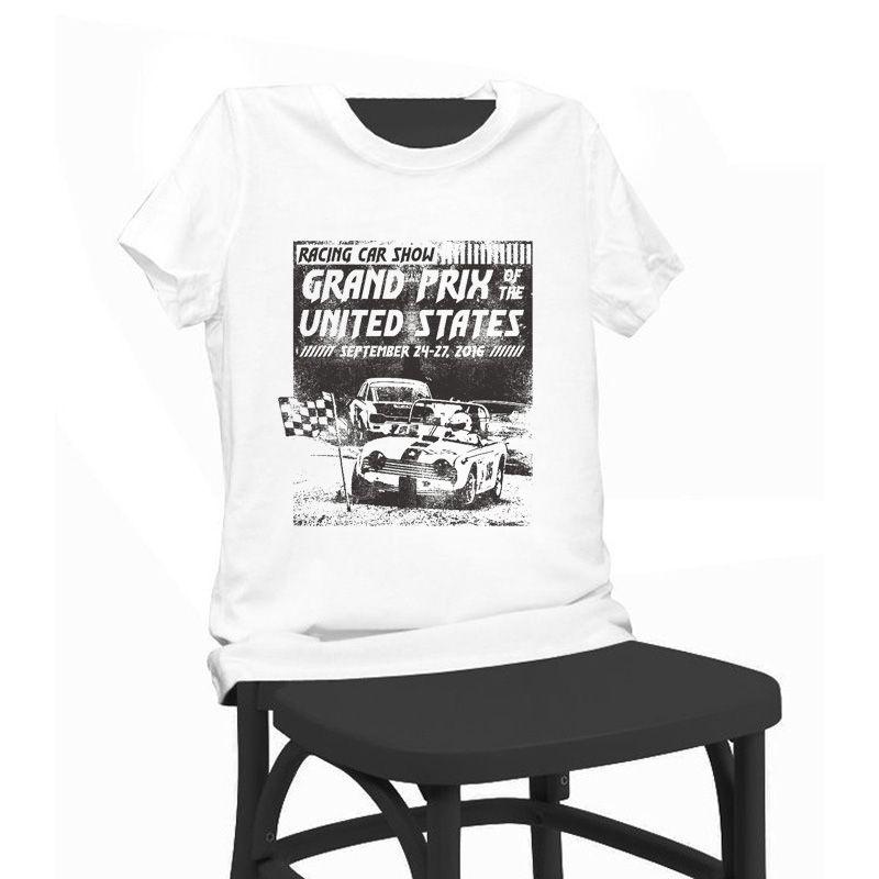 Grand Prix Car Show Print Beauty T Shirt Funny T Shirts Short Sleeve - Car show t shirts