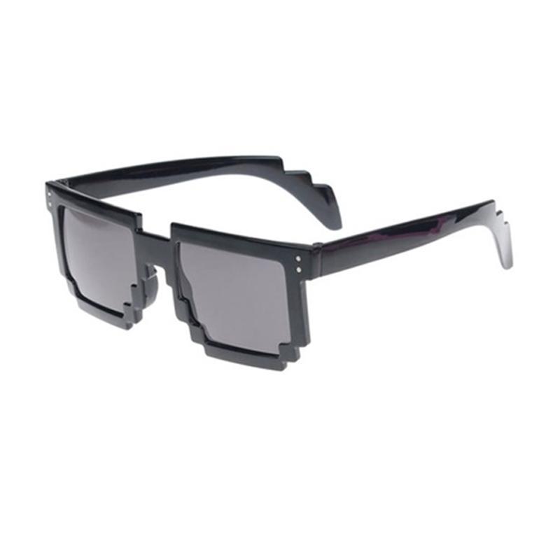 8bc19a6e97 Wholesale Retro Novelty Unisex Cool Pixel Glasses Pixelated Style Square  Sunglasses Native Sunglasses Wholesale Sunglasses From Juaner