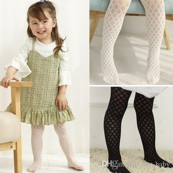New Arrival Spring Summer Kids Clothes Highr Quality Baby Girls Leggings Fishnet Stocking Kids Clothes Good Match Stocking Q0888