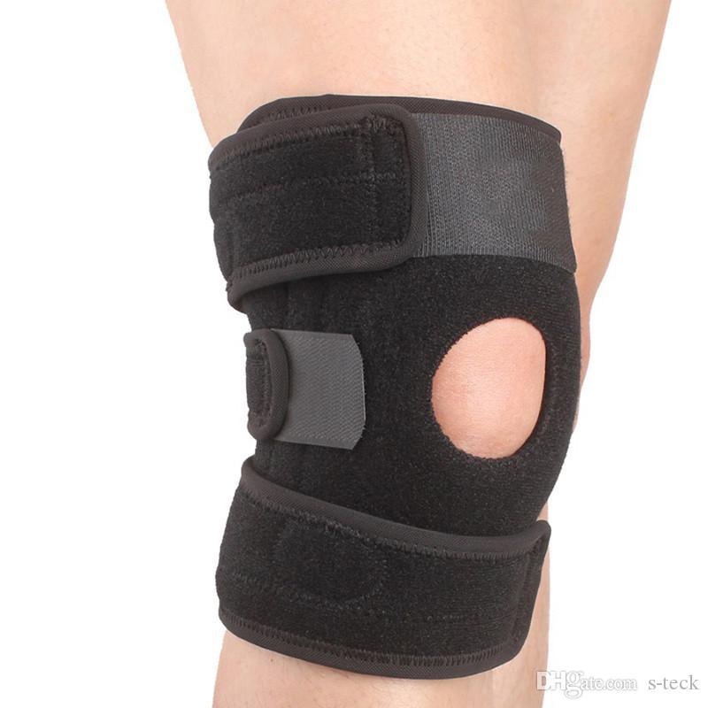 rodillera Soporte Correa Protector pad rodillera deportiva Bádminton Baloncesto Running toro rodilla transpirable