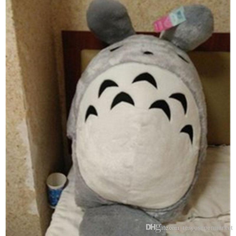 Giant Japan Anime Peluche Totoro Toy Morbido farcito Pop Cartoon Cat Doll Cuscino Regali di Natale di compleanno i bambini
