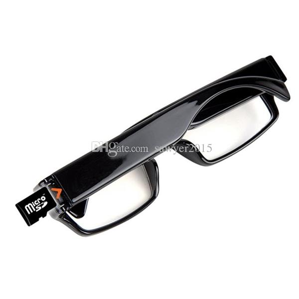No Hole Glasses pinhole Camera Full HD 1080P Eyewear Camcorder Sunglass MINI DV DVR Digital Video Recorder