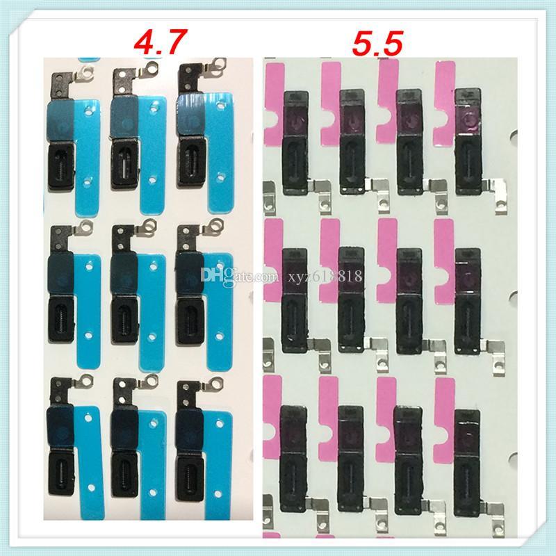 Livre DHL Adesivo Orelha Fone de Ouvido Anti Poeira Grelha de Malha de Tela de Substituição para o iphone 77 plus 6 s 6 plus 5S 5g 4S