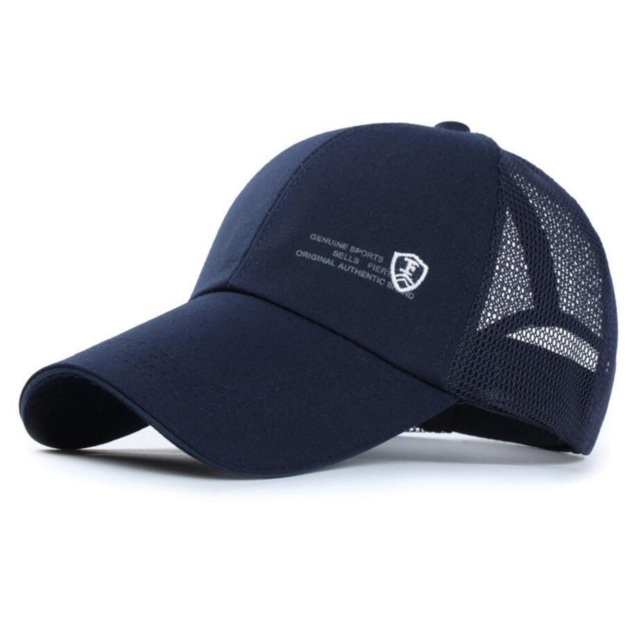 New Fashion Baseball Cap Snapback Caps Brand Caps Mesh Summer Sun ... e72f5157323c