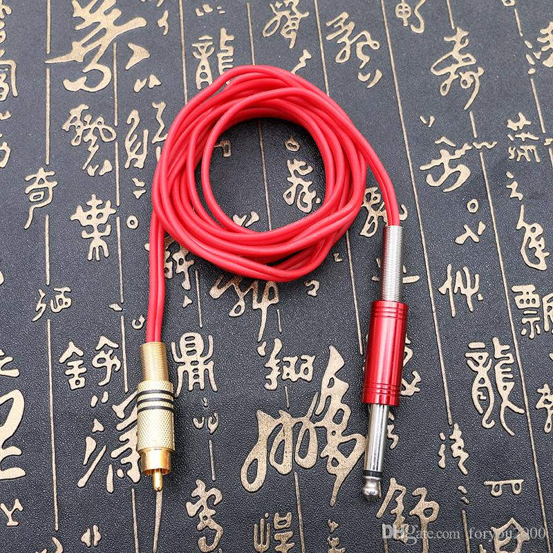 RCA Joint Tattoo Power Supply Kits Tool Tattoo Clip Cord Silicone Clip Cord for Tattoo Machine TPS5130
