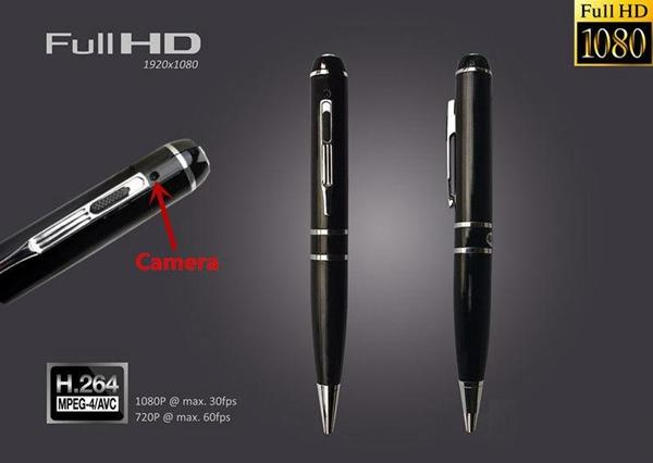 full HD 8GB 16GB pen camera with Motion Detection 1080P Ball Point Pen DVR mini audio video recorder black