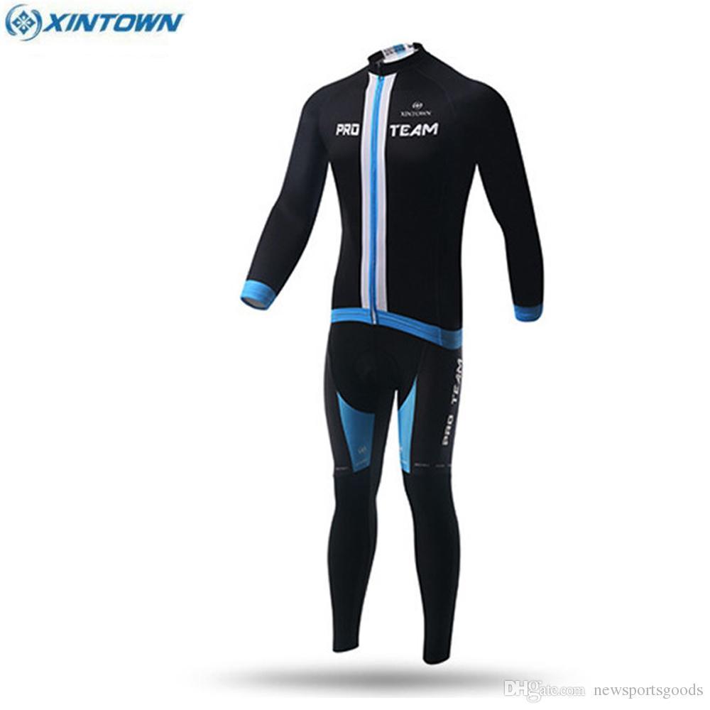 e6df2227d XINTOWN Team Autumn Winter Profession Mtb Bike Clothes Shirt Top ...