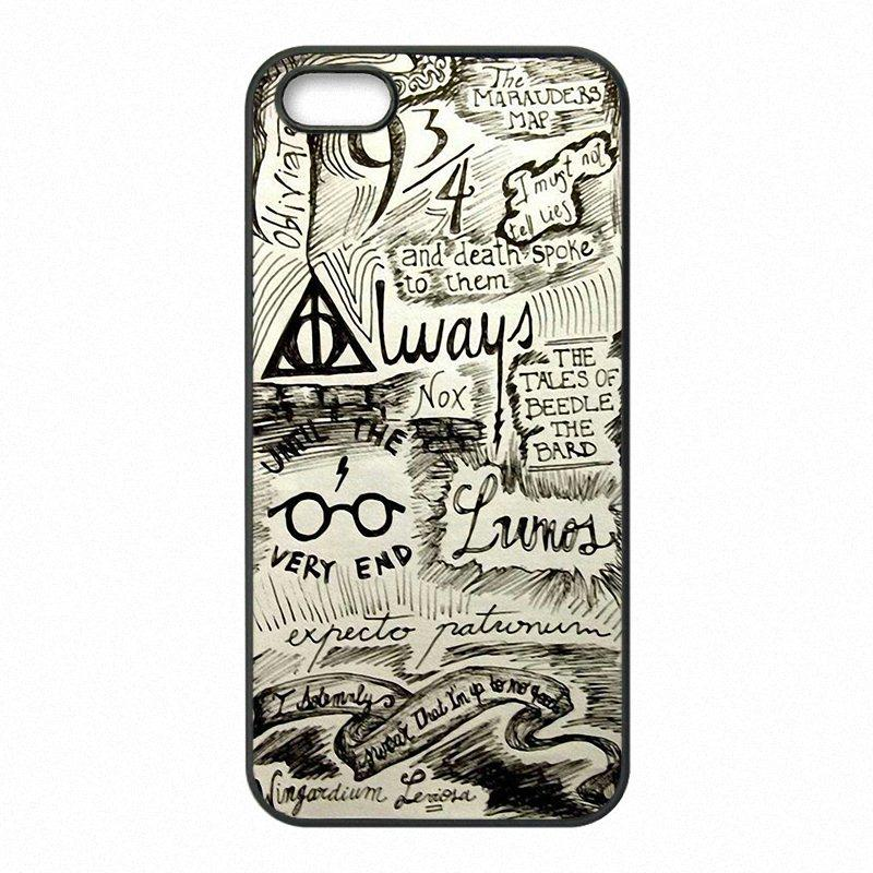 best authentic ac95a 431e5 Harry Potter Marauder s Map Phone Covers Shells Hard Plastic Cases for  iPhone 4 4S 5 5S SE 5C 6 6S 7 Plus ipod touch 4 5 6