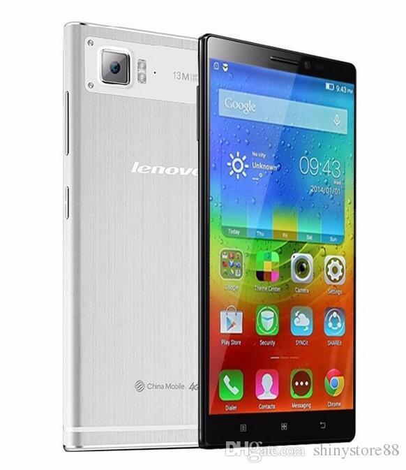 Mejor Oferta Movil Lenovo VIBE Z2W 4G LTE Unlocked Cell Phone Quad Core RAM 2GB ROM 32 GB 12 GHz 55 Pulgadas 13MP Dual Sim Operadores De Telefonia