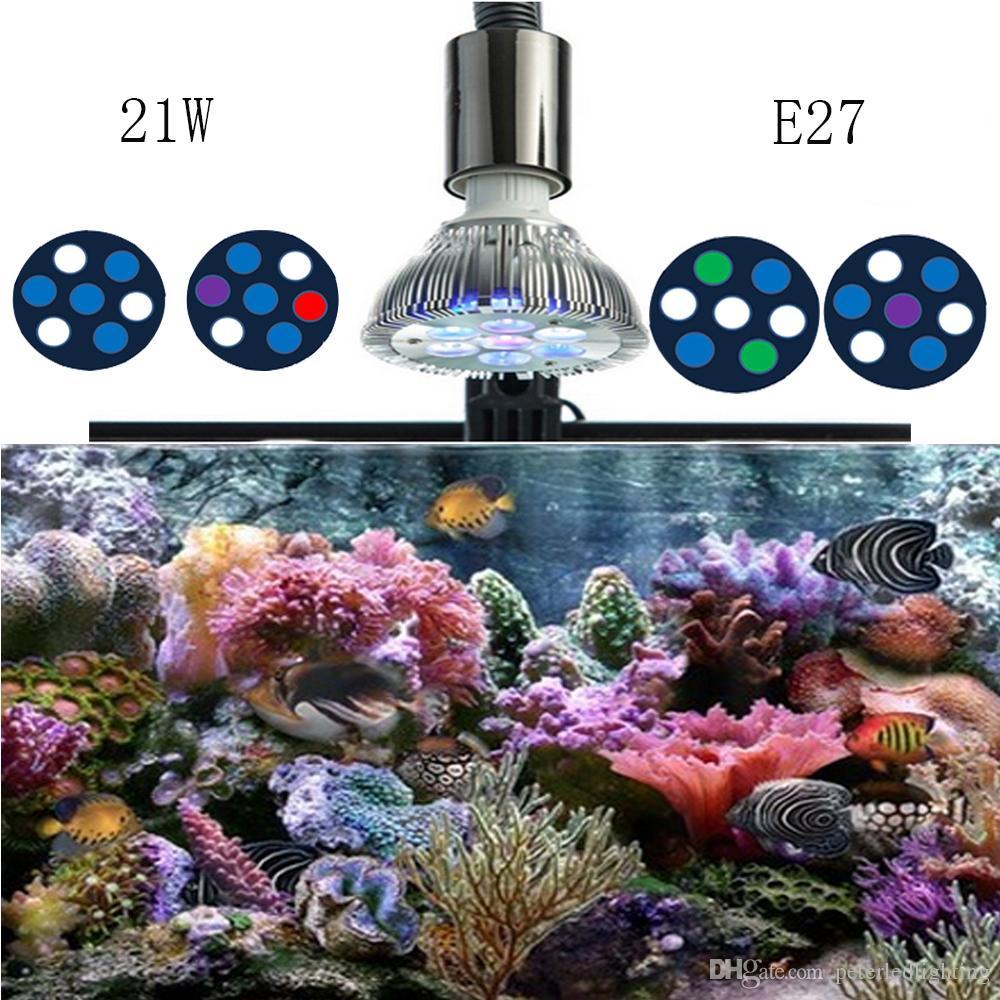 21w led coral reef lights par38 30 led aquarium light e27 led