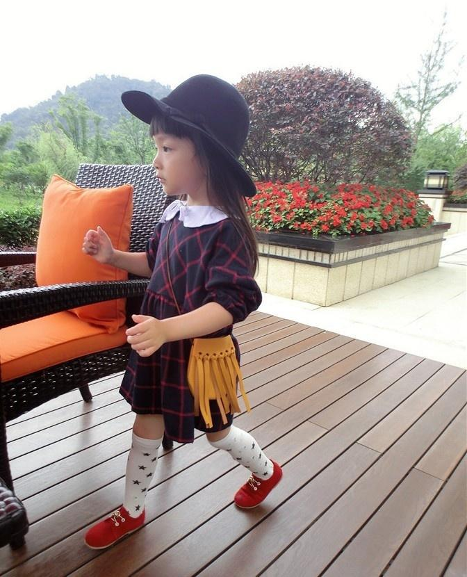 Kinder quaste handtaschen mädchen kleine umhängetasche kinder messenger bags mini tasche geldbörsen kleinkind brieftasche