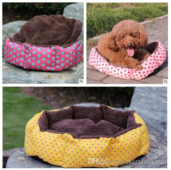 Grosshandel Kreis Hundebett Warming House Pet Zwinger Hund Hohe Qualitat Betten Luxus Katze Sofa Nest Winter Fur Cat Produkte Von Crazyfairyland