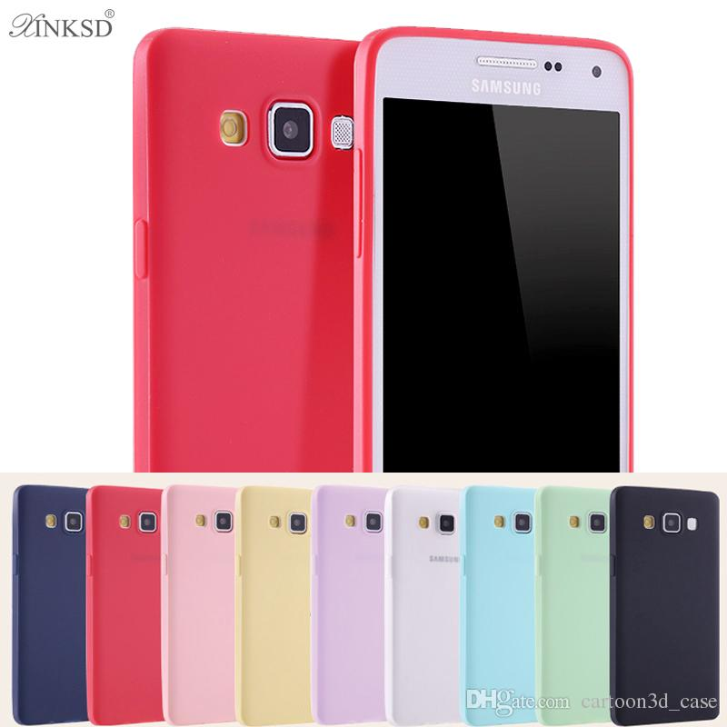 Candy Phones Cases For iphone 6 7 plus Silicone TPU Soft Case Cover for Samsung Galaxy A5 A7 A3 2017 S7 S6 Edge S8 plus Cell Phones Cases i7