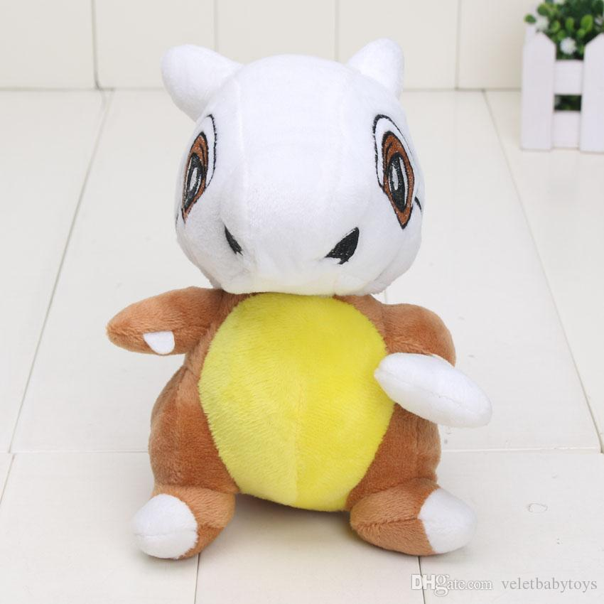 16cm Pikachu New Cubone Plush Toys Doll Soft Stuffed Animals Toys Figure Doll Gift for Kids