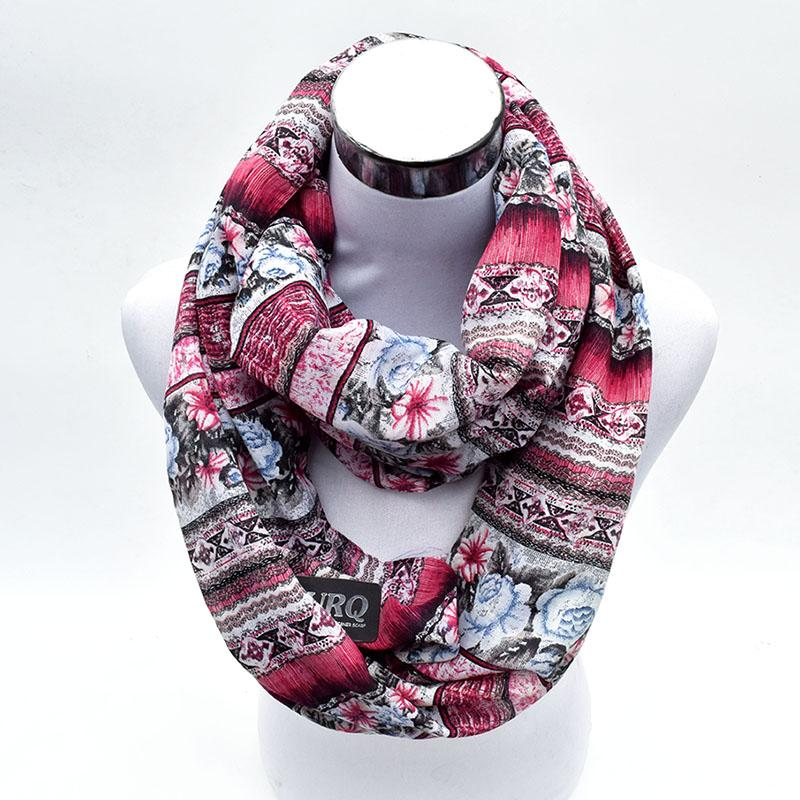 bfaaa7b5ccf6 Wholesale 2017 New Design Luxury Woman Silk Loop Scarves Spring Soft Tube  Scarfs Rose Flower Infinity Foulard V7A16760 Skull Scarf Cheap Scarves From  ...
