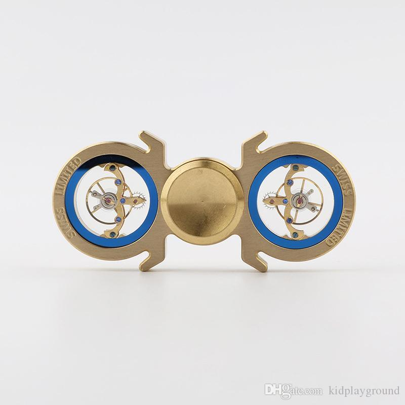 New Swiss Watch Movement Styles Tri Spinner Fid Toy Brass Hand