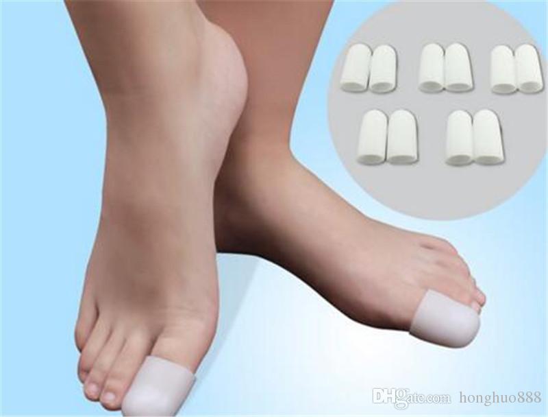 Silikagel-Fuß-Mais-Blasen-Entferner-Zehen-Rohr-Entlastungs-Fuß-Ballen-Schmerz-Zehen-Finger-Schutz-Kappen-weiches Kissen Calluse