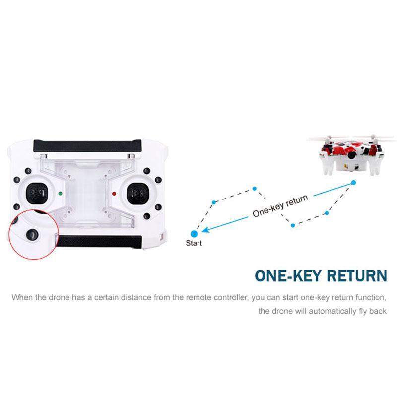 2.4G 6CH Mini RC Quadcopter Drone with 0.3MP Camera HD Video RTF Quadcopter Drones Remote Control Helicopter Drone E905 Airplane Toys