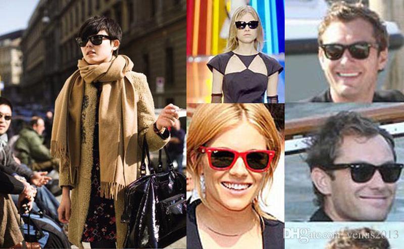 Gafas de sol de estilo clásico de la venta Gafas de sol de verano de las mujeres y de los hombres modernos de la playa Gafas de sol multicoloras de la playa