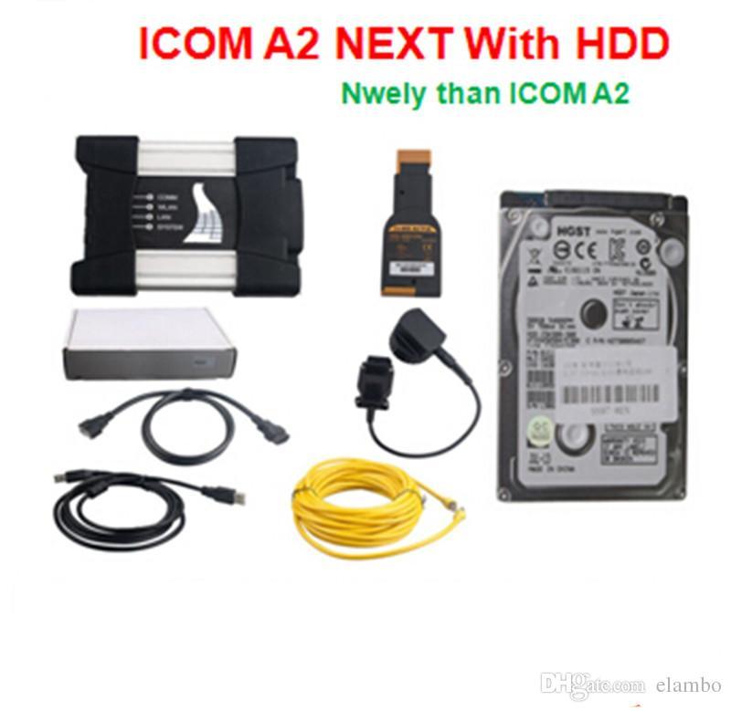ICOM Next BMW Stesse funzioni di ICOM A2 A B C A3 ISTA software 2017.05 Programma di diagnostica hdd
