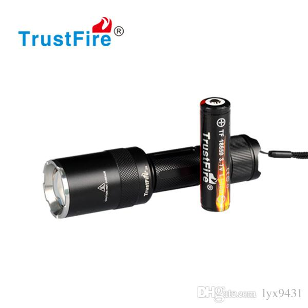Zoom LED Aluminum Flashlight 1600LM Zoomable Adjustable Rechargeable 18650 Battery Flash Light Focus Outdoor Sports Equipment camping Light