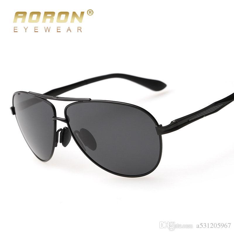 9c48b252f227 AORON Men's Polarized Sunglasses Classic Driver Driving Goggles For ...