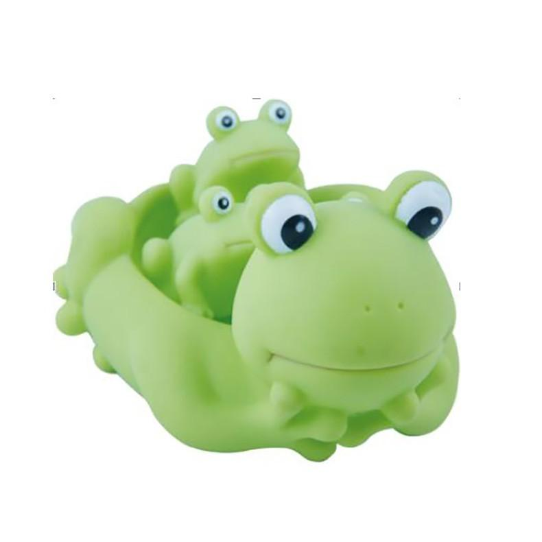 2018 Mummy And Baby Rubber Frog Family Bath Toy Set Of 3 Floating ...