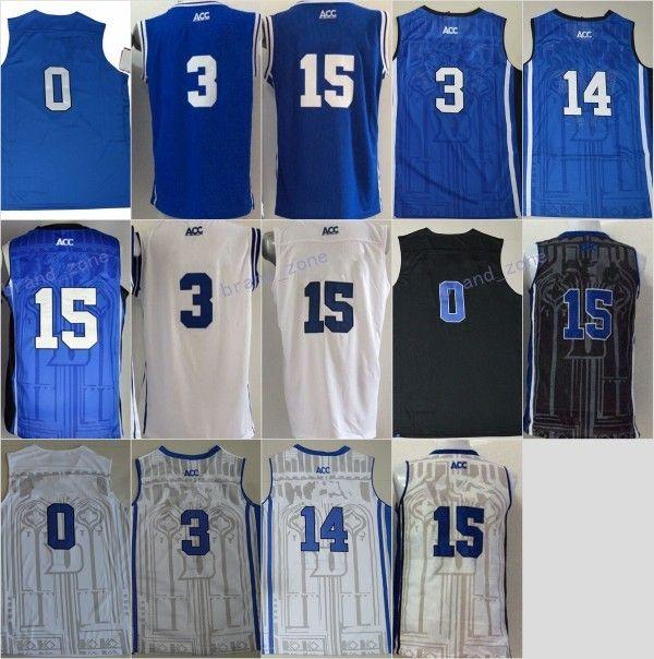 1c98e2c0b152 ... 2017 Discount Duke Blue Devils College 0 Jayson Tatum Jersey Best  Basketball Quality 15 Jahlil Okafor Utahs Jakob Poeltl and Dukes Brandon  Ingram ...