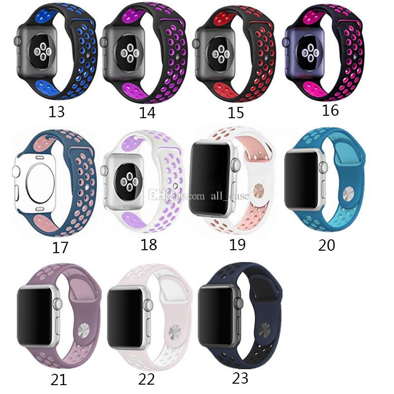 Para a Apple Assista bandas para a Apple Series Assista 5 4 40 milímetros Series 44 milímetros 3 2 38 milímetros 42 milímetros Macio substituição Band para Apple Watch