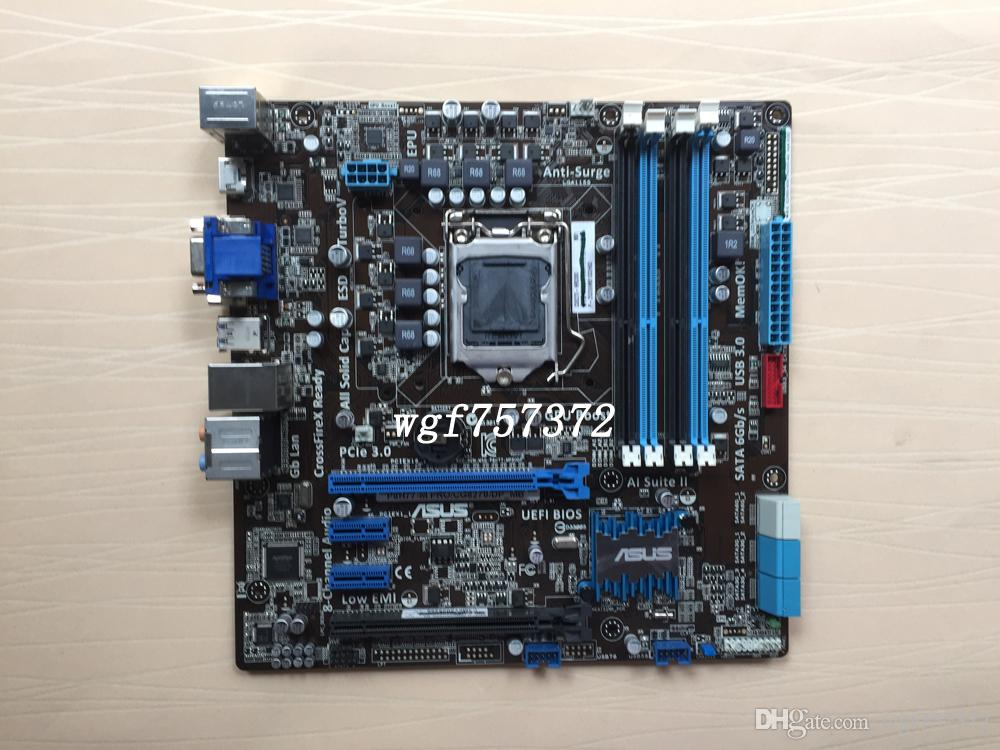 For Asus P8H77-M PRO CG8270 DP_MB Desktop Motherboard LGA1155 H77 SATA 6Gb/s USB 3.0 Intel Systemboard