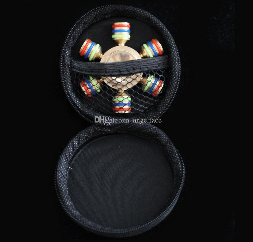 Kupfer Hexagon Metalllegierung Mode EDC Spielzeug Hand Spinner Professionelle Zappeln Spinner Autismus und ADHS Anti Stress Spielzeug mit Black Box Geschenk