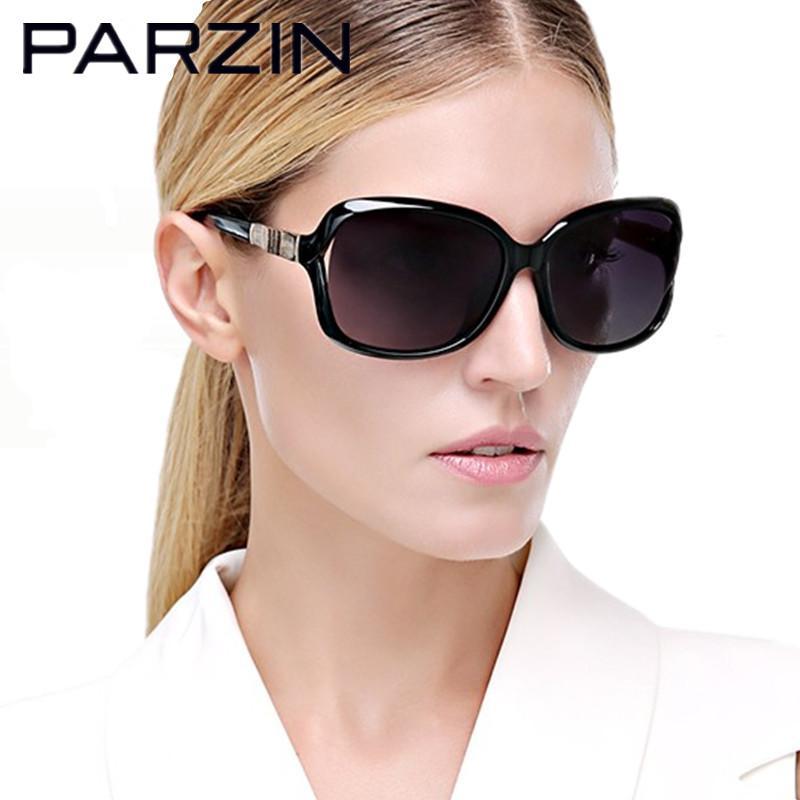 3b9e4ce01fe Wholesale Parzin Polarized Sunglasses Women Bamboo Design Women S Sun Glasses  Fashion Shades Female Driving Glasses Black With Case 9502 Womens Sunglasses  ...
