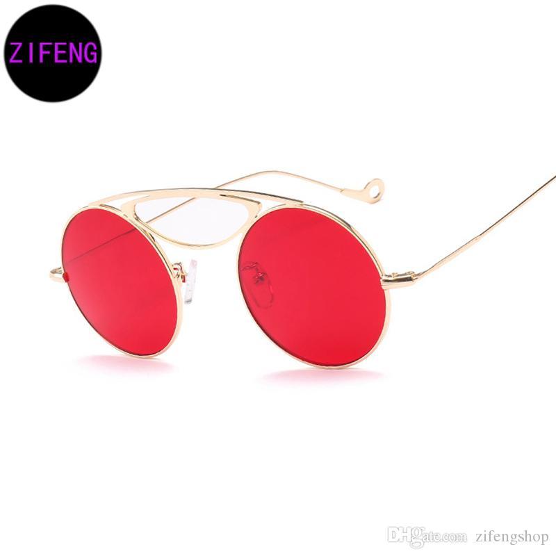 f1ae5d5e70c Z F 2018 Brand Sunglasses Women Ocean Blue Pink Sunglasses for Men ...