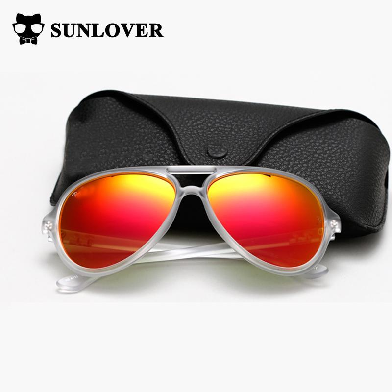 94d8a2e1e998 Wholesale Sunlover 2017 Hot Sunglasses Women Brand Designer Pilot Sun  Glasses Mirror Lens .Unisex Men Women Eyewear On Sale Without Box Sunglasses  At Night ...
