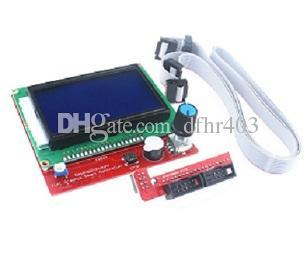 IKEYES D5 Arduino DIY Reprap Ramps V1.4 Smart 12864 ЖК-контроллер с адаптером для 3D-принтер