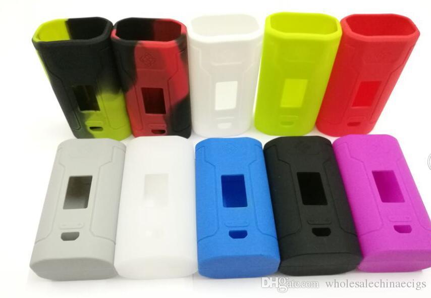 Silikon-Kasten-Taschen-Abdeckung für Predator 228W Kasten-Mod 18650 Batterie TC Kasten-Mod dienen als Energie-Bank