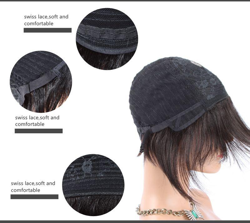 Short Human Hair Wigs for Black Women Tight Curly Lace Wig Brazilian Hair Black Women Wigs Malaysian Human Hair Lace Wig