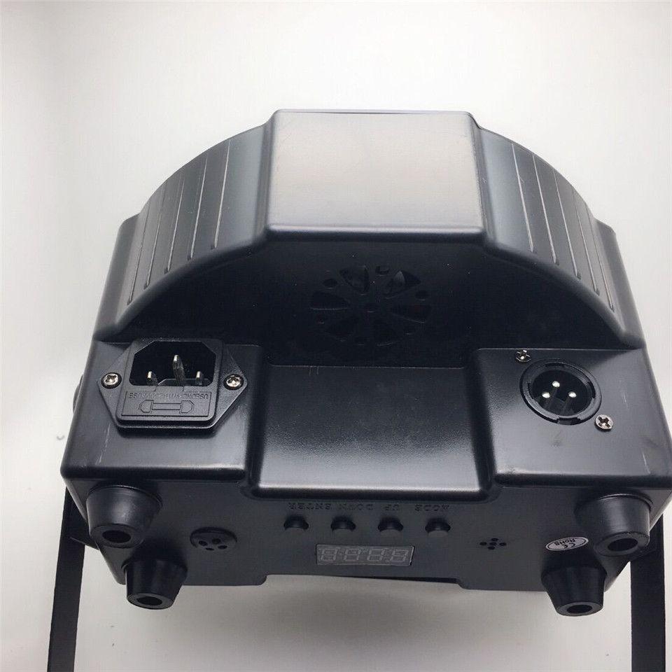 كري RGBW 12x12 W 4IN1 الصمام شقة SlimPar رباعية لوس LED غسل لوز دي لا ETAPA DJ DMX لوس ديلا lampada 4/8 channes