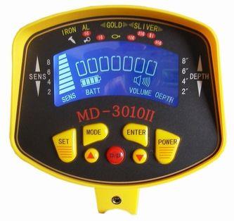 MD3010II Terra Pesquisando Detector de Metais Escavador de Ouro À Prova D 'Água LCD Longo Alcance Underground subterrâneo Bobina de pedra detector MD-3010II Seach